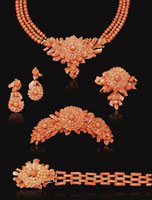 Victorian Jewelry Carved