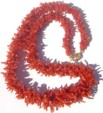 Oxblood Coral Necklace